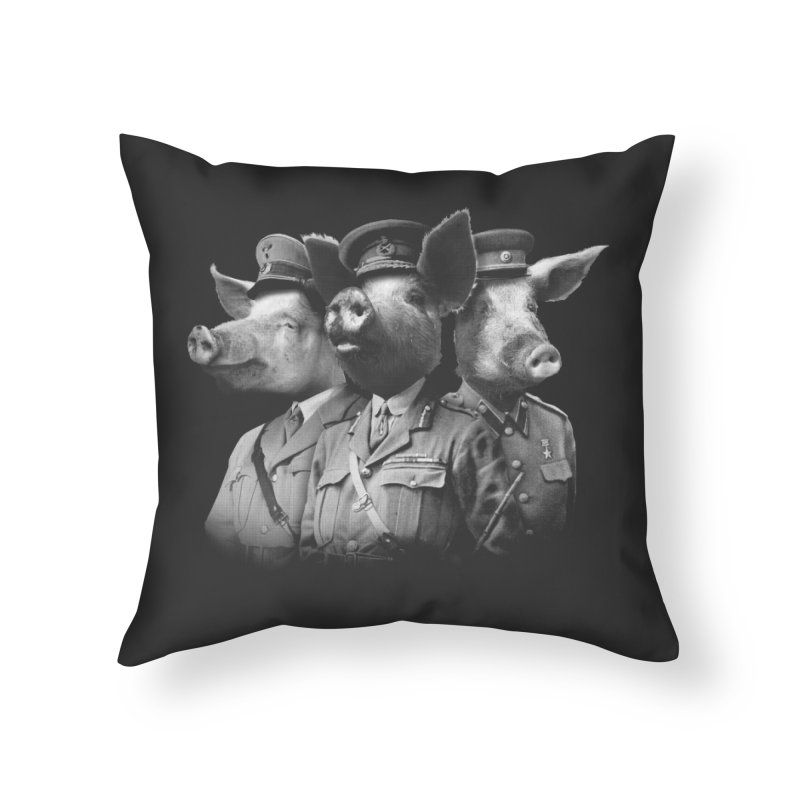 War Pigs Home Throw Pillow by joshbillings's Artist Shop