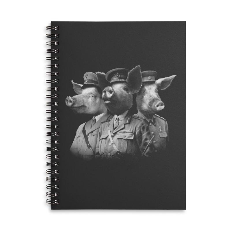 War Pigs Accessories Lined Spiral Notebook by joshbillings's Artist Shop