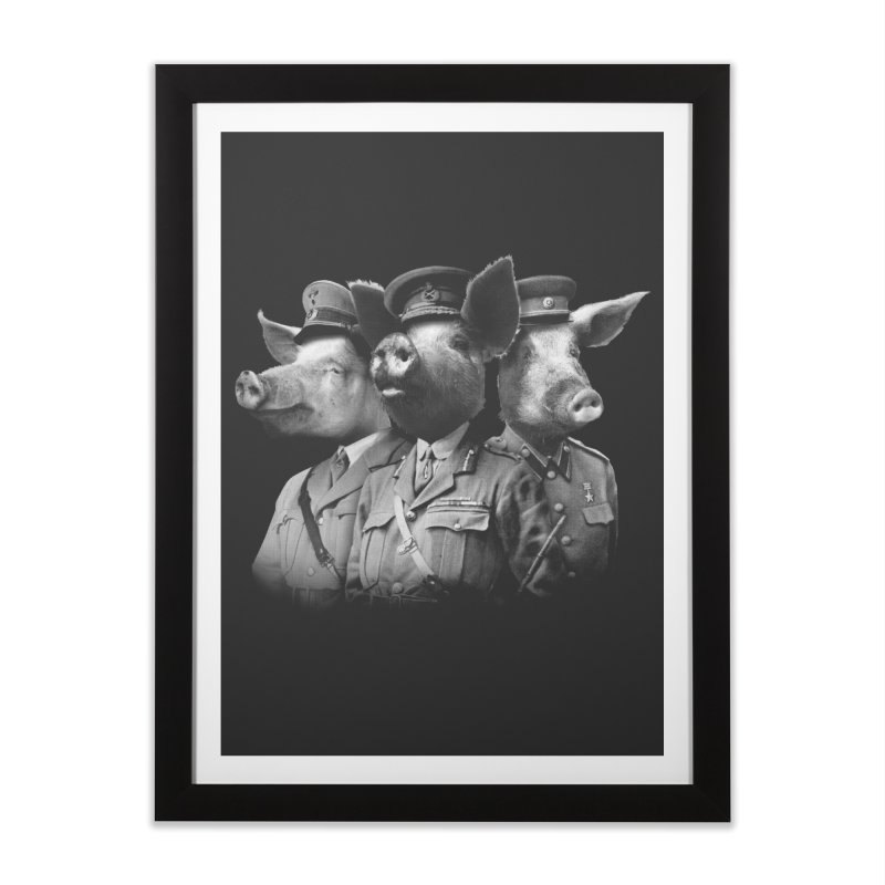 War Pigs Home Framed Fine Art Print by joshbillings's Artist Shop