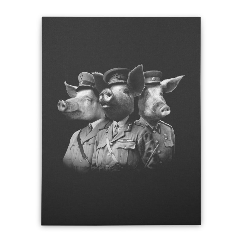 War Pigs Home Stretched Canvas by joshbillings's Artist Shop