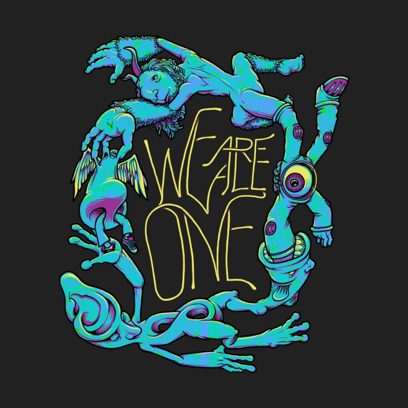 We're All One Kids Pullover Hoody by joshbillings's Artist Shop