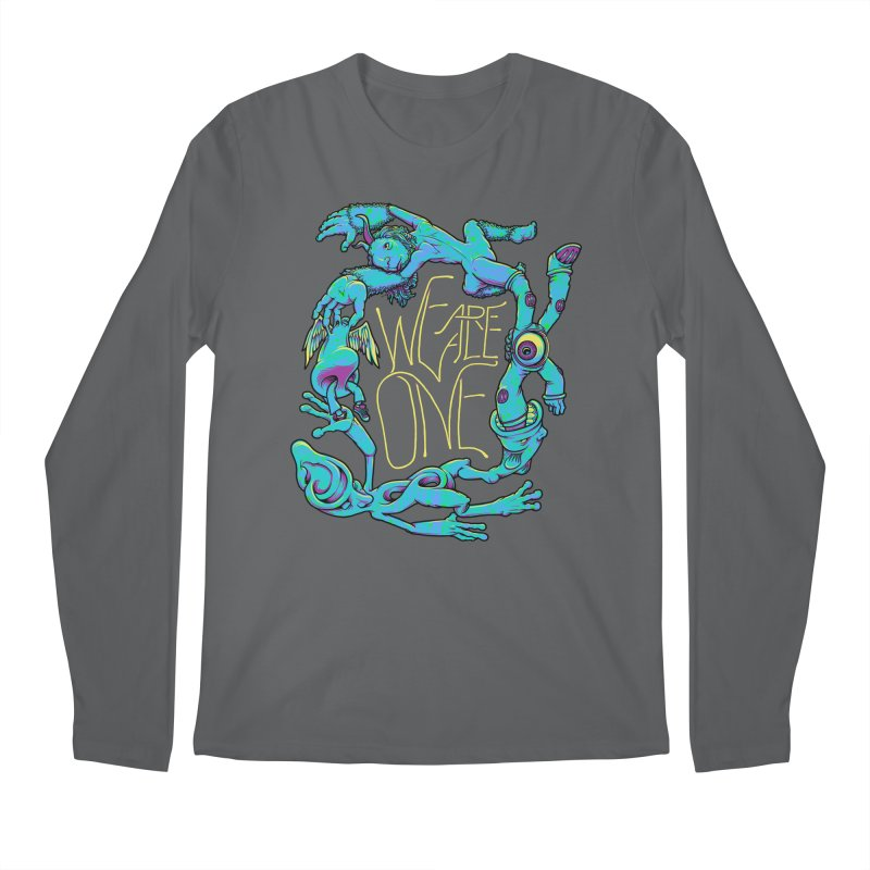 We're All One Men's Longsleeve T-Shirt by joshbillings's Artist Shop