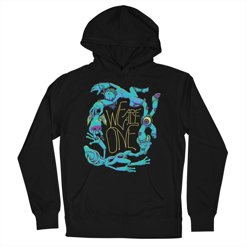 We're All One Men's Pullover Hoody by joshbillings's Artist Shop