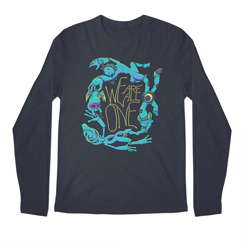 We're All One Men's Longsleeve T-Shirt by joshbillings's Artist Shop