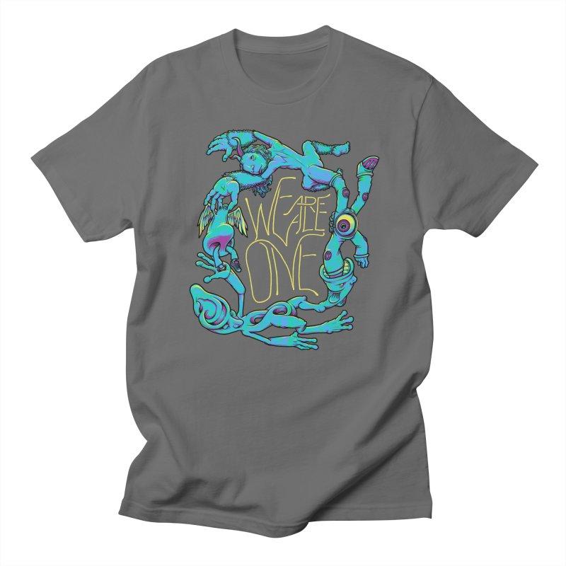 We're All One Women's Regular Unisex T-Shirt by joshbillings's Artist Shop