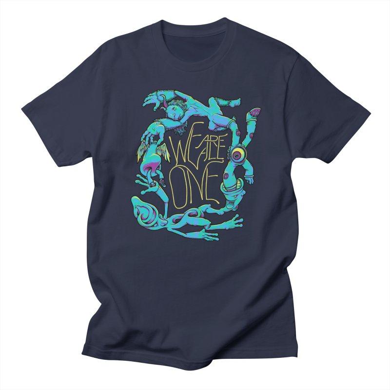 We're All One Men's Regular T-Shirt by joshbillings's Artist Shop