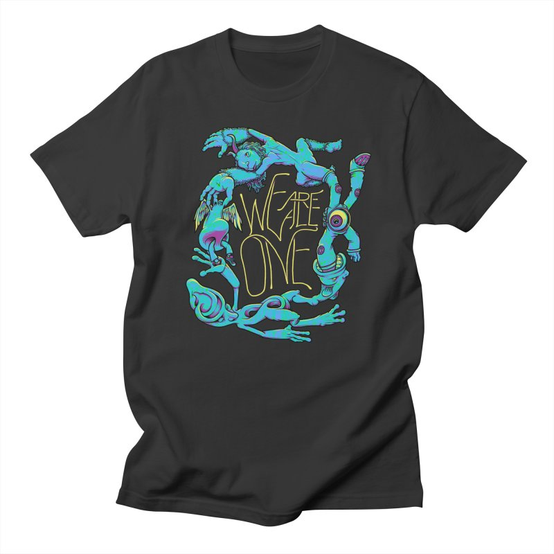 We're All One Men's T-shirt by joshbillings's Artist Shop