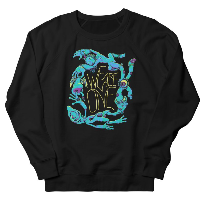 We're All One Men's French Terry Sweatshirt by joshbillings's Artist Shop
