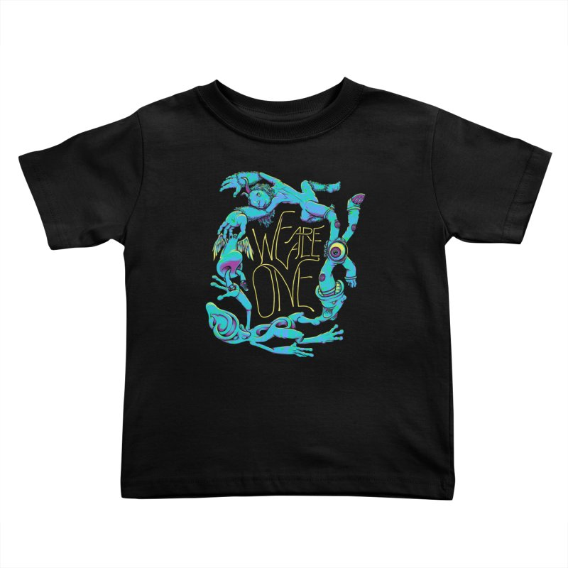 We're All One Kids Toddler T-Shirt by joshbillings's Artist Shop