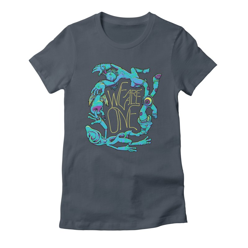 We're All One Women's T-Shirt by joshbillings's Artist Shop