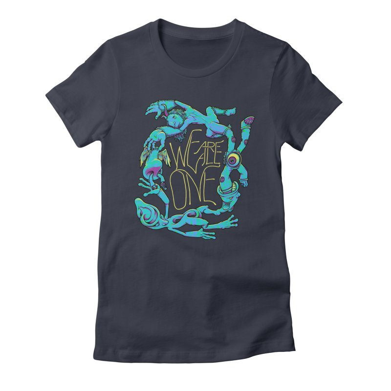 We're All One Women's T-Shirt by joshbillings's Artist Shop