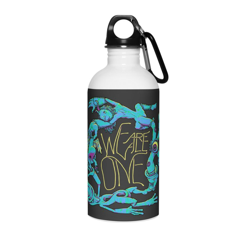 We're All One Accessories Water Bottle by joshbillings's Artist Shop