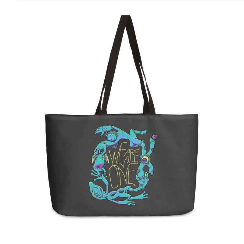 We're All One Accessories Weekender Bag Bag by joshbillings's Artist Shop