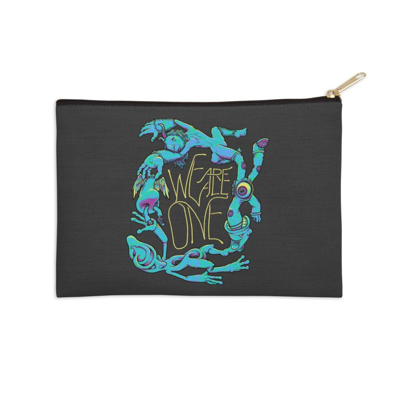 We're All One Accessories Zip Pouch by joshbillings's Artist Shop