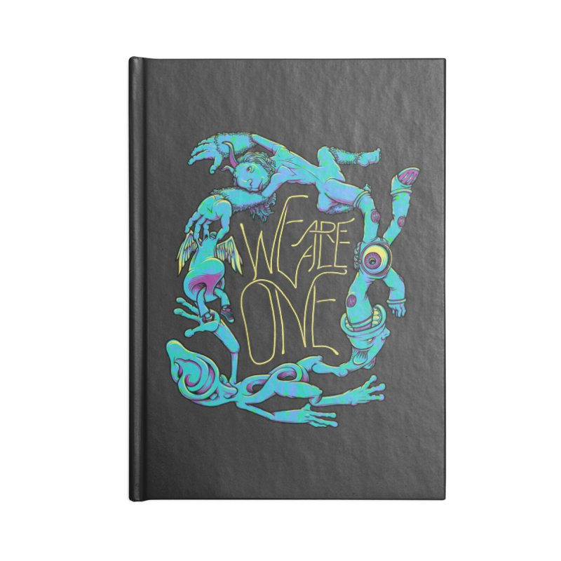 We're All One Accessories Lined Journal Notebook by joshbillings's Artist Shop