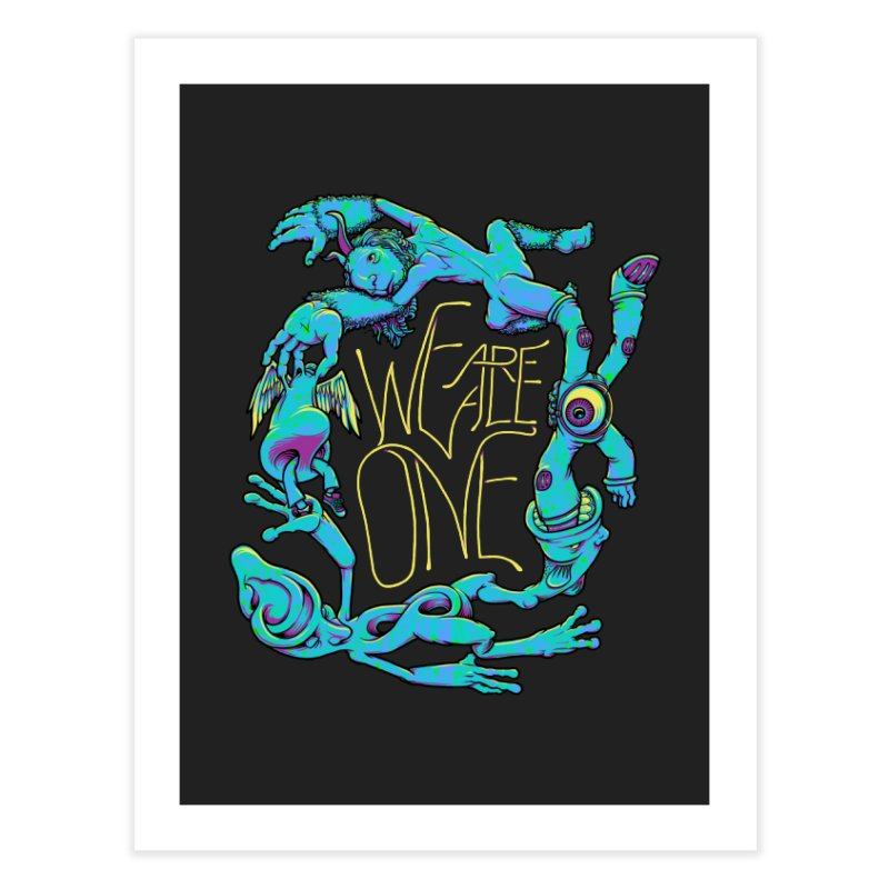 We're All One Home Fine Art Print by joshbillings's Artist Shop