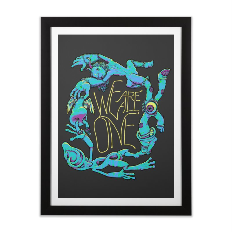 We're All One Home Framed Fine Art Print by joshbillings's Artist Shop