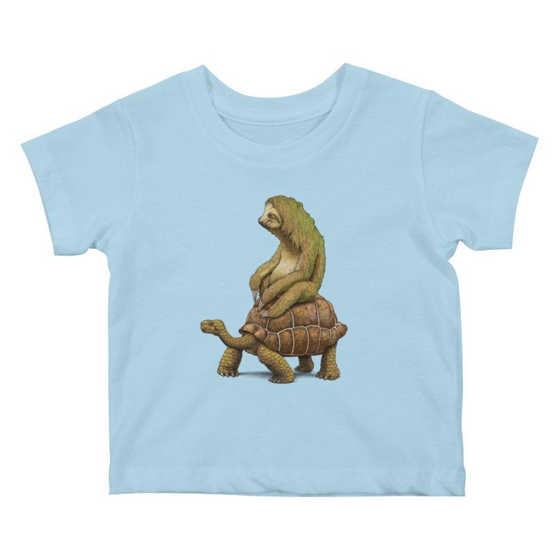 Speed is Relative Kids Baby T-Shirt by joshbillings's Artist Shop
