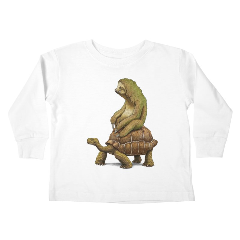Speed is Relative Kids Toddler Longsleeve T-Shirt by joshbillings's Artist Shop