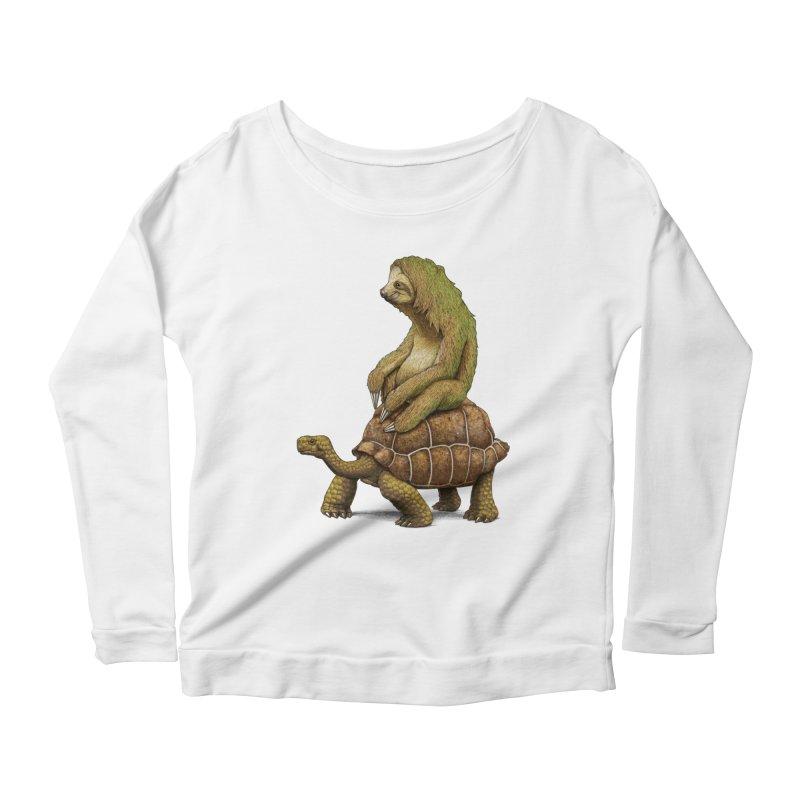 Speed is Relative Women's Scoop Neck Longsleeve T-Shirt by joshbillings's Artist Shop