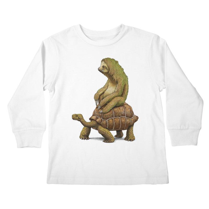Speed is Relative Kids Longsleeve T-Shirt by joshbillings's Artist Shop