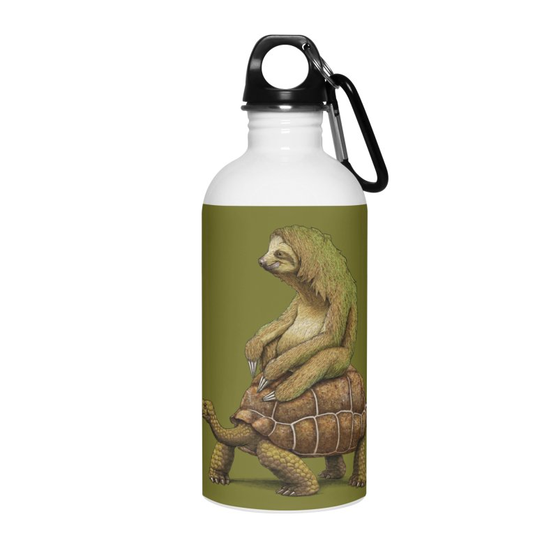 Speed is Relative Accessories Water Bottle by joshbillings's Artist Shop