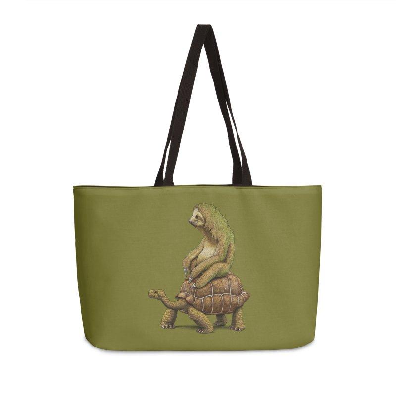 Speed is Relative Accessories Weekender Bag Bag by joshbillings's Artist Shop