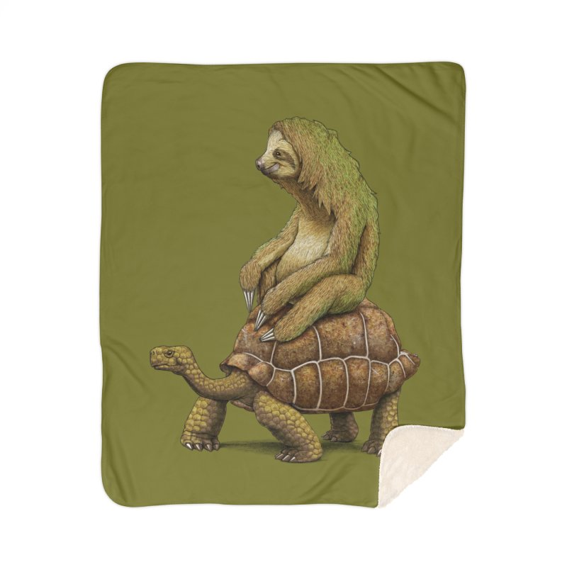 Speed is Relative Home Sherpa Blanket Blanket by joshbillings's Artist Shop