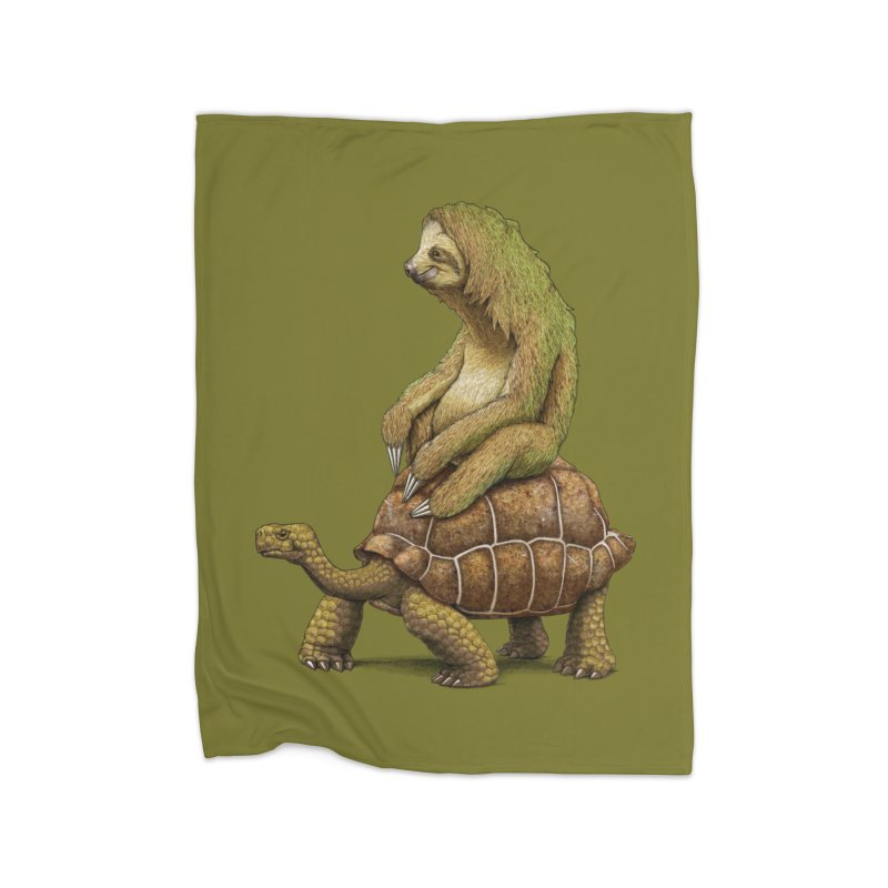 Speed is Relative Home Fleece Blanket Blanket by joshbillings's Artist Shop