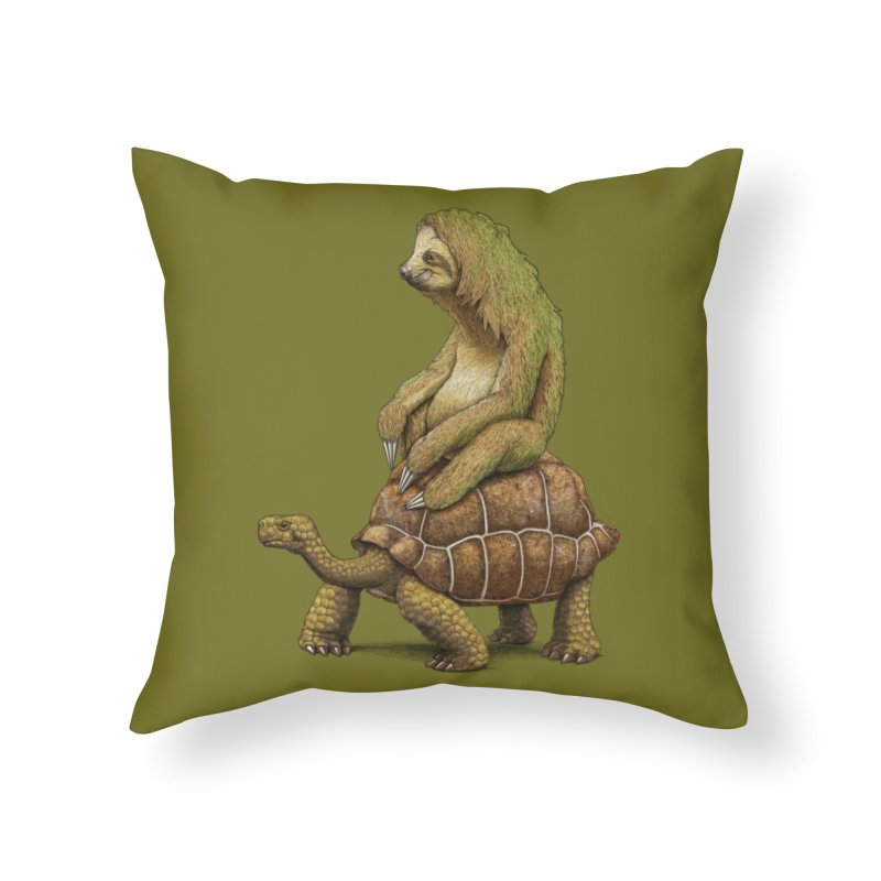 Speed is Relative Home Throw Pillow by joshbillings's Artist Shop