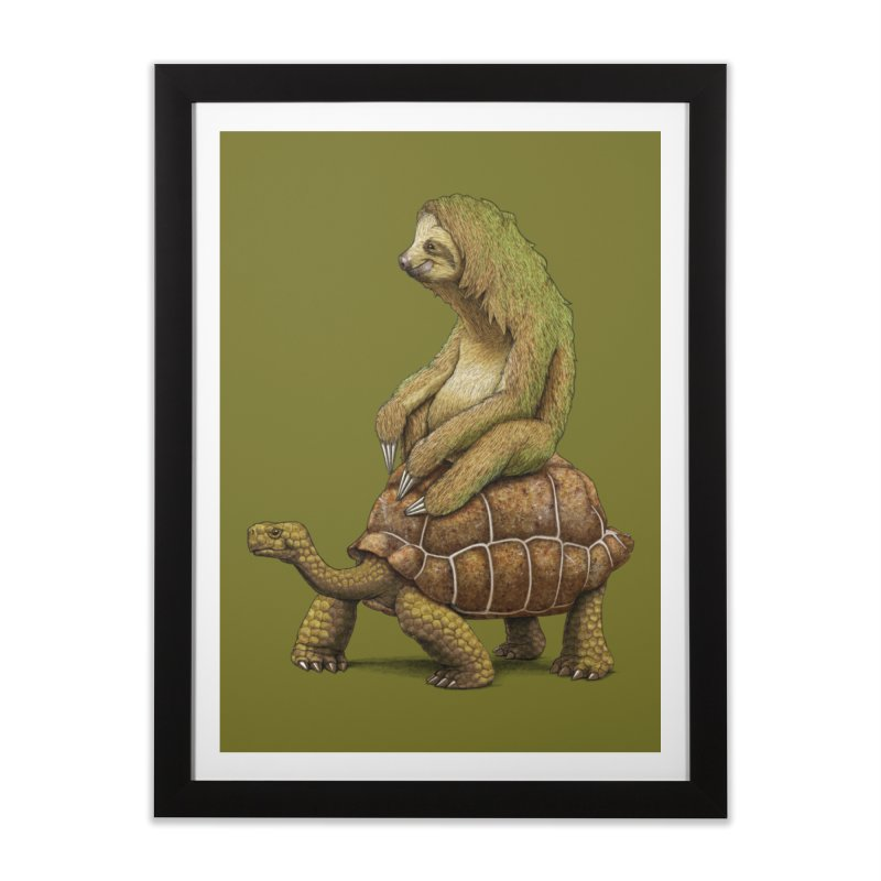 Speed is Relative Home Framed Fine Art Print by joshbillings's Artist Shop