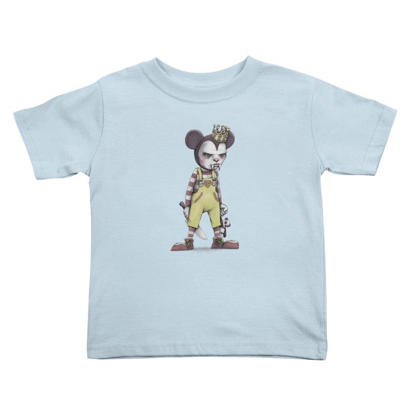 Child Vampire Kids Toddler T-Shirt by joshbillings's Artist Shop