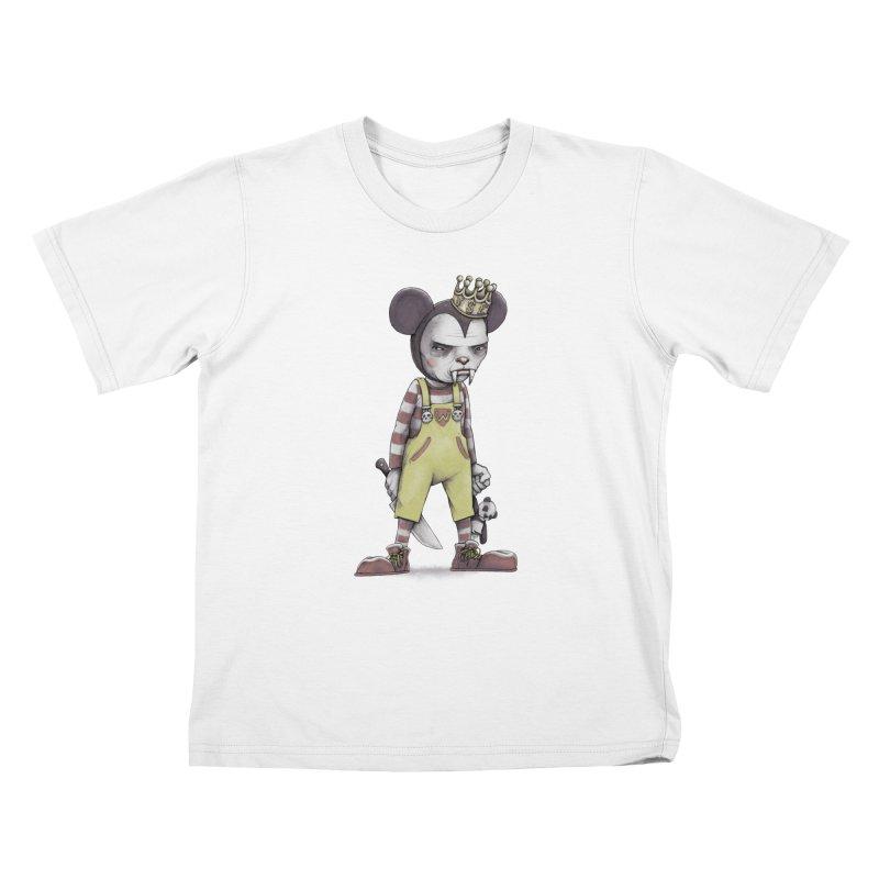 Child Vampire Kids T-Shirt by joshbillings's Artist Shop