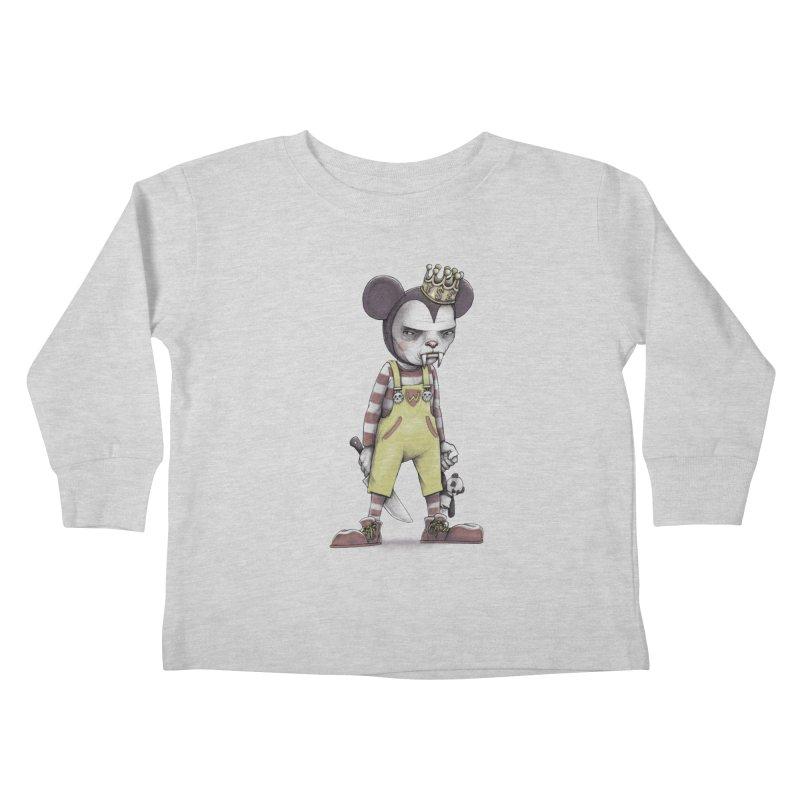 Child Vampire Kids Toddler Longsleeve T-Shirt by joshbillings's Artist Shop