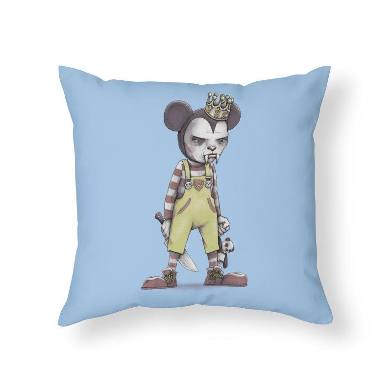 Child Vampire Home Throw Pillow by joshbillings's Artist Shop