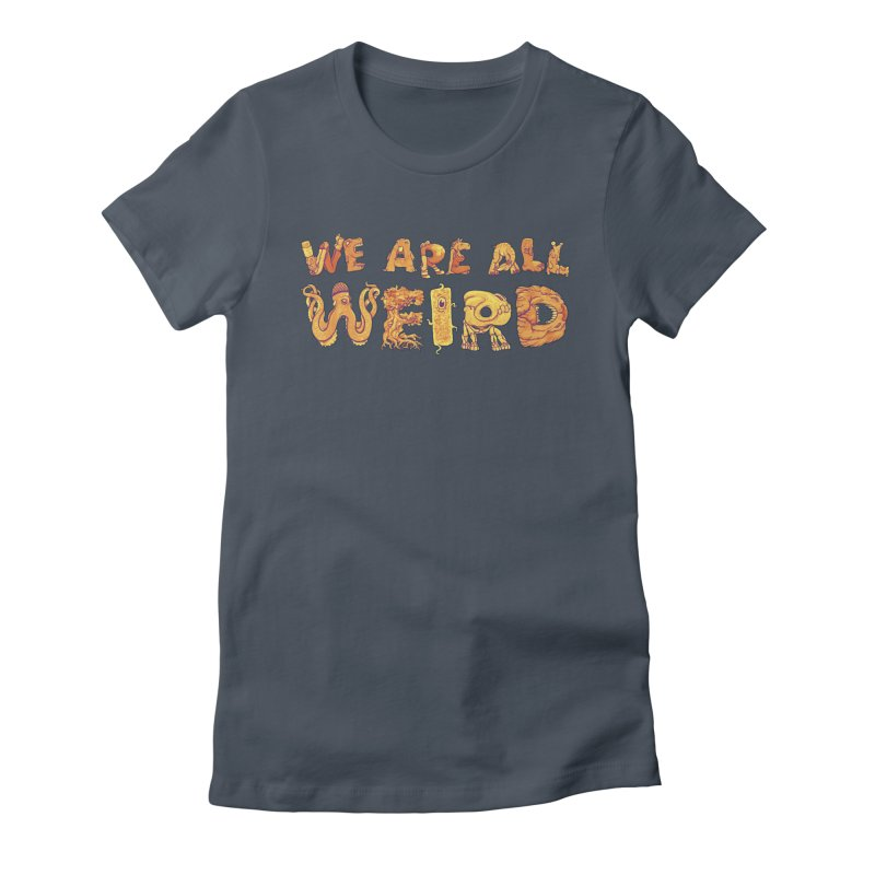We Are All Weird Women's French Terry Zip-Up Hoody by joshbillings's Artist Shop