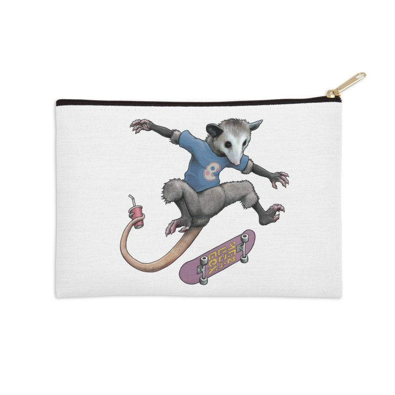 Awesome Possum Accessories Zip Pouch by joshbillings's Artist Shop