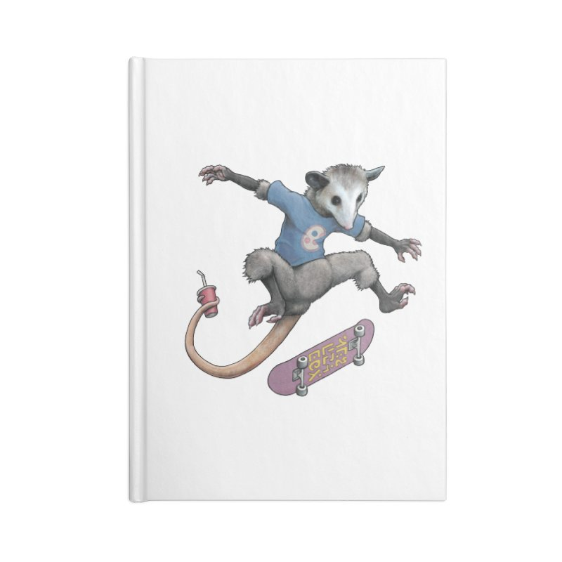 Awesome Possum Accessories Notebook by joshbillings's Artist Shop