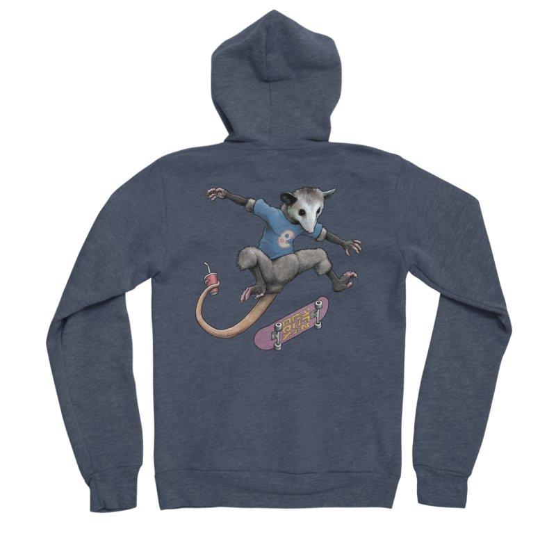 Awesome Possum Women's Zip-Up Hoody by joshbillings's Artist Shop