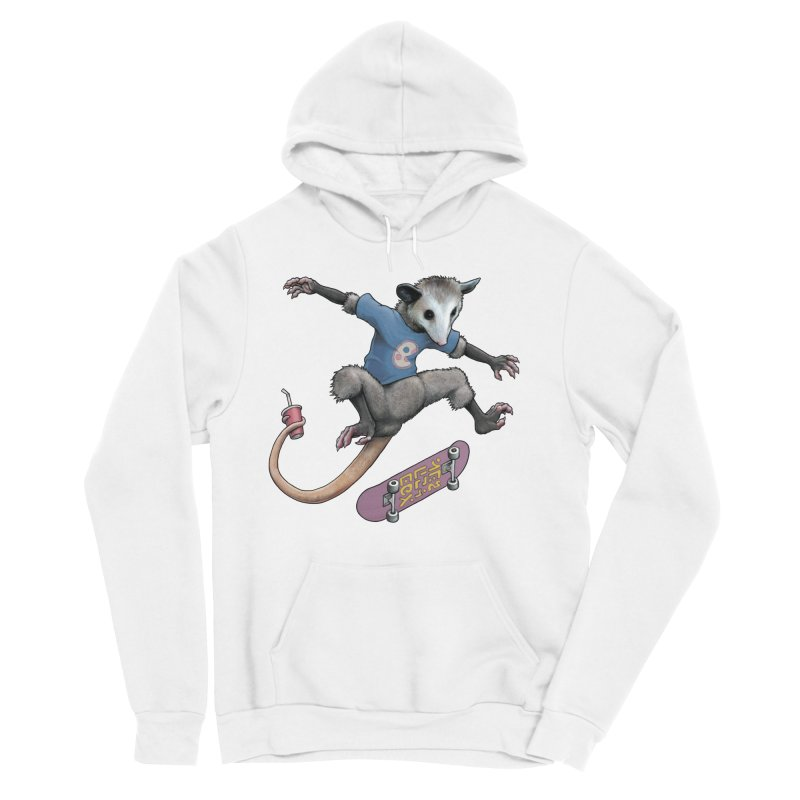 Awesome Possum Men's Sponge Fleece Pullover Hoody by joshbillings's Artist Shop