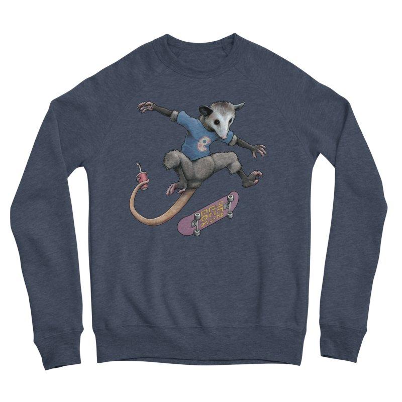 Awesome Possum Women's Sponge Fleece Sweatshirt by joshbillings's Artist Shop