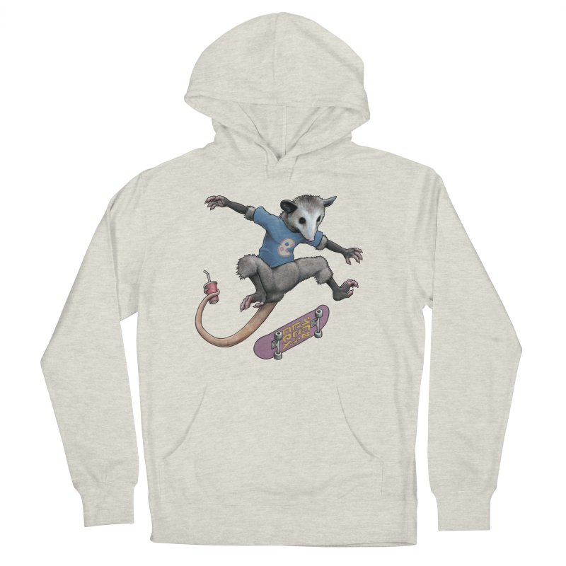 Awesome Possum Men's French Terry Pullover Hoody by joshbillings's Artist Shop