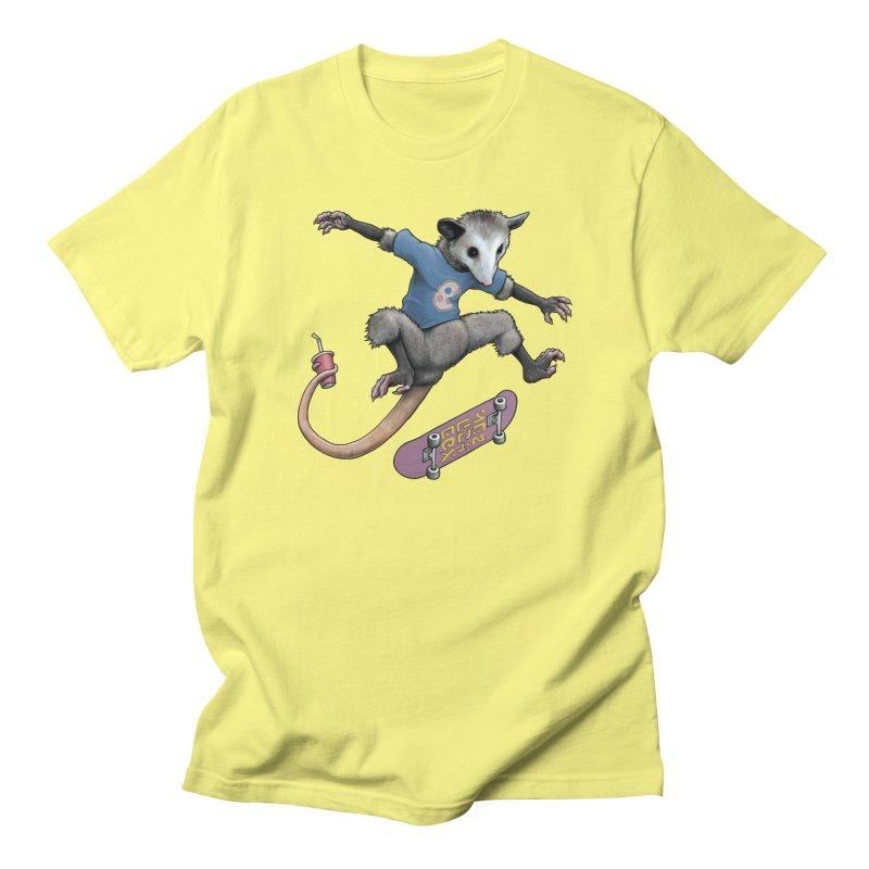 Awesome Possum Men's Regular T-Shirt by joshbillings's Artist Shop