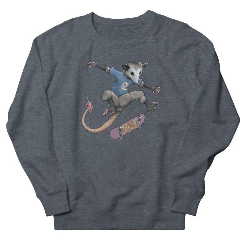 Awesome Possum Men's French Terry Sweatshirt by joshbillings's Artist Shop