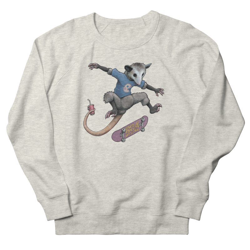 Awesome Possum Men's French Terry Sweatshirt by joshbillings's Artist Shop
