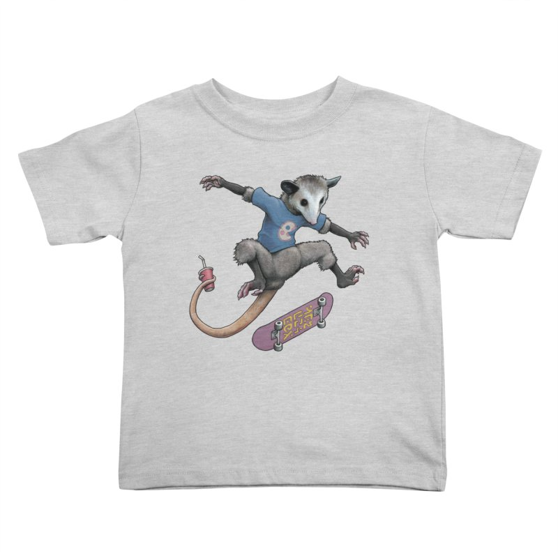 Awesome Possum Kids Toddler T-Shirt by joshbillings's Artist Shop