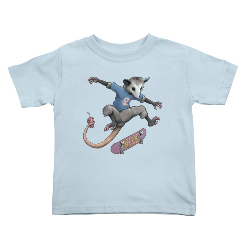 Awesome Possum Kids Toddler T-Shirt by joshbillings's Artist Shop
