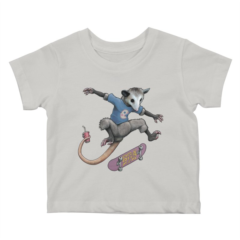 Awesome Possum Kids Baby T-Shirt by joshbillings's Artist Shop