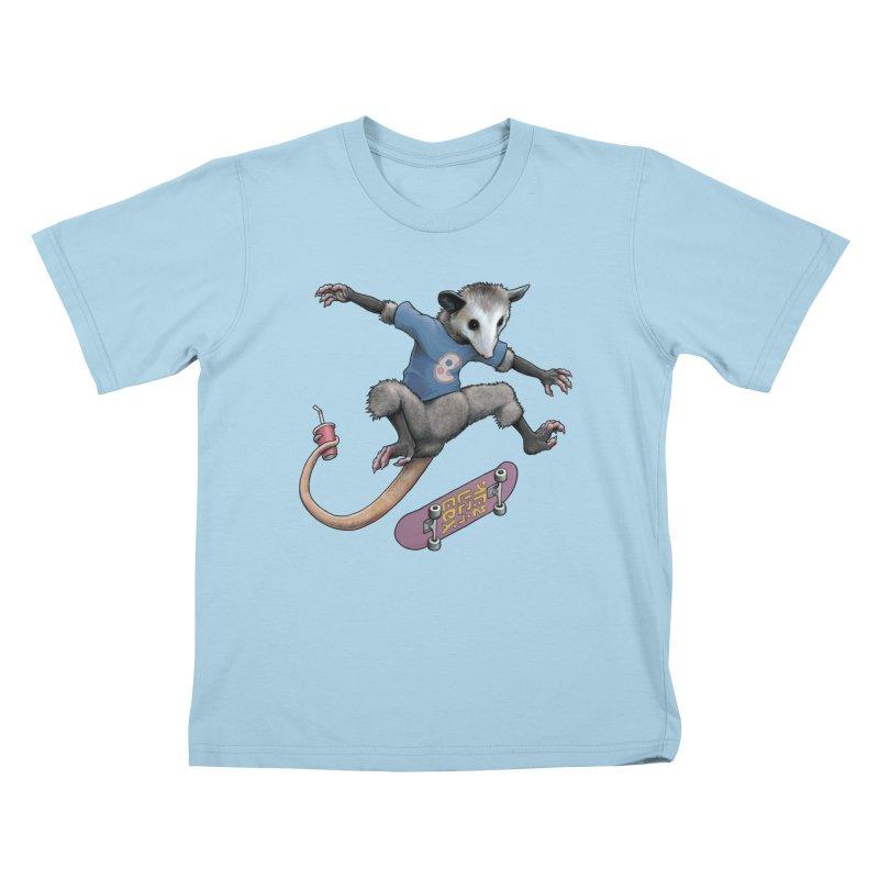 Awesome Possum Kids T-Shirt by joshbillings's Artist Shop