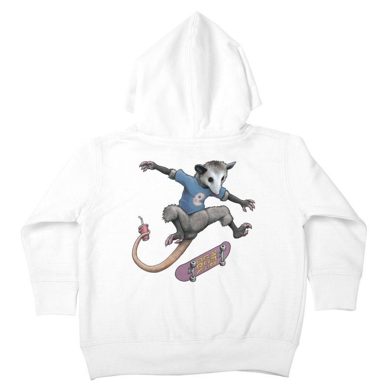 Awesome Possum Kids Toddler Zip-Up Hoody by joshbillings's Artist Shop